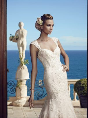 Buy Casablanca Bridal 2195 – Size 12 $750.00. Buy used wedding dresses online for a fraction of the price. Store Sample, gently loved. Great price!