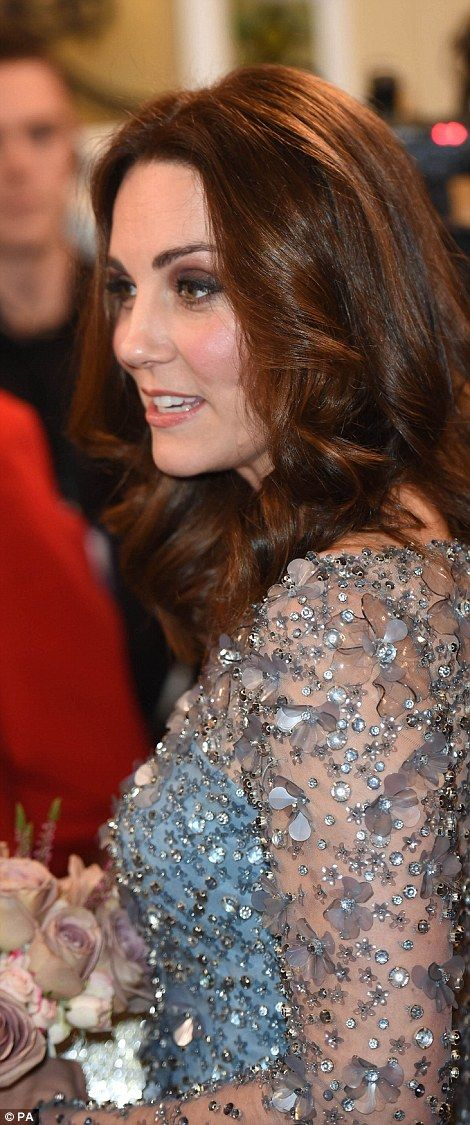 William and Kate, who is four months pregnant, are to watch a stellar line-up of artists including James Blunt, Louis Tomlinson, Paloma Faith and Seal at the London Palladium evening gala.