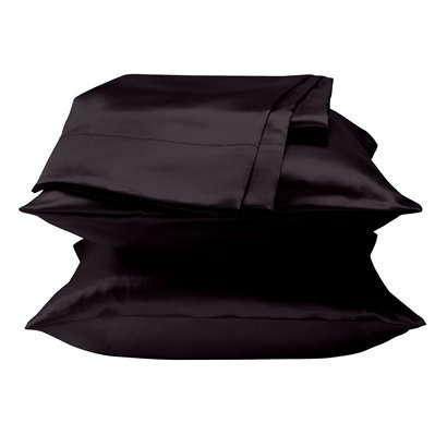 Black Satin Pillowcase 51 Best Satin Pillowcases Of Courseimages On Pinterest