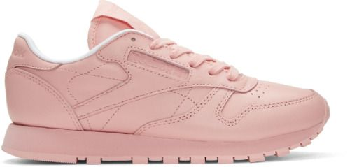 http://SneakersCartel.com Reebok Classic Leather 'Pink'Available @ SSENSE #sneakers #shoes #kicks #jordan #lebron #nba #nike #adidas #reebok #airjordan #sneakerhead #fashion #sneakerscartel https://www.sneakerscartel.com/reebok-classic-leather-pinkavailable-ssense/