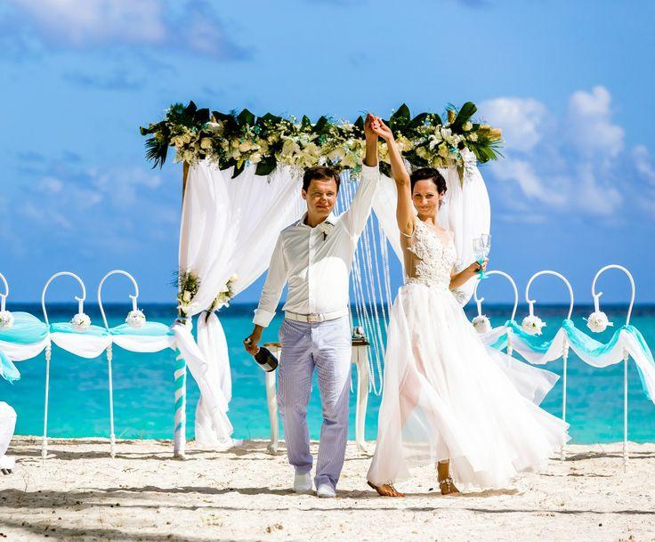 Wedding in Tiffany Style, Cap Cana, Dominican Republic