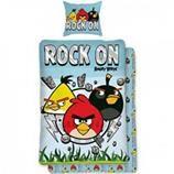 Oferta Lenjerie de pat Angry Birds 140 x 200 cm – eMAG.ro   OFERTE PRODUSE