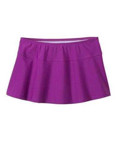 This Grape Sakti Skirted Bikini Bottoms is perfect! #zulilyfinds