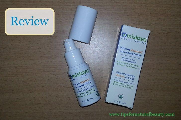 Mistaya Vibrance Vitamin C Serum Review