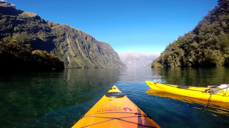 Kayaking through the 8th Wonder of the World - Milford Sound