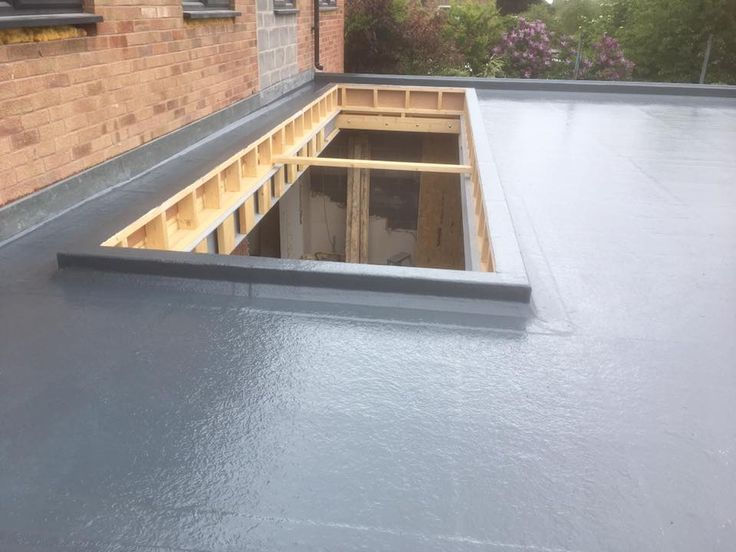 25 Best Ideas About Fibreglass Flat Roof On Pinterest