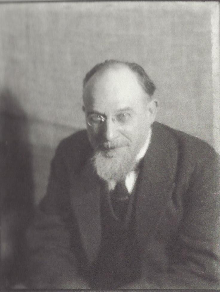 Erik Satie by Man Ray, Paris, vers 1922