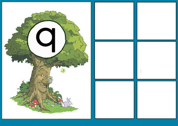 Letterkaart Q