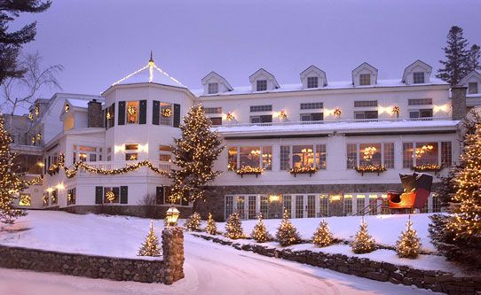 Mirror Lake Inn, Lake Placid NY - Want desperately to stay here sometime!