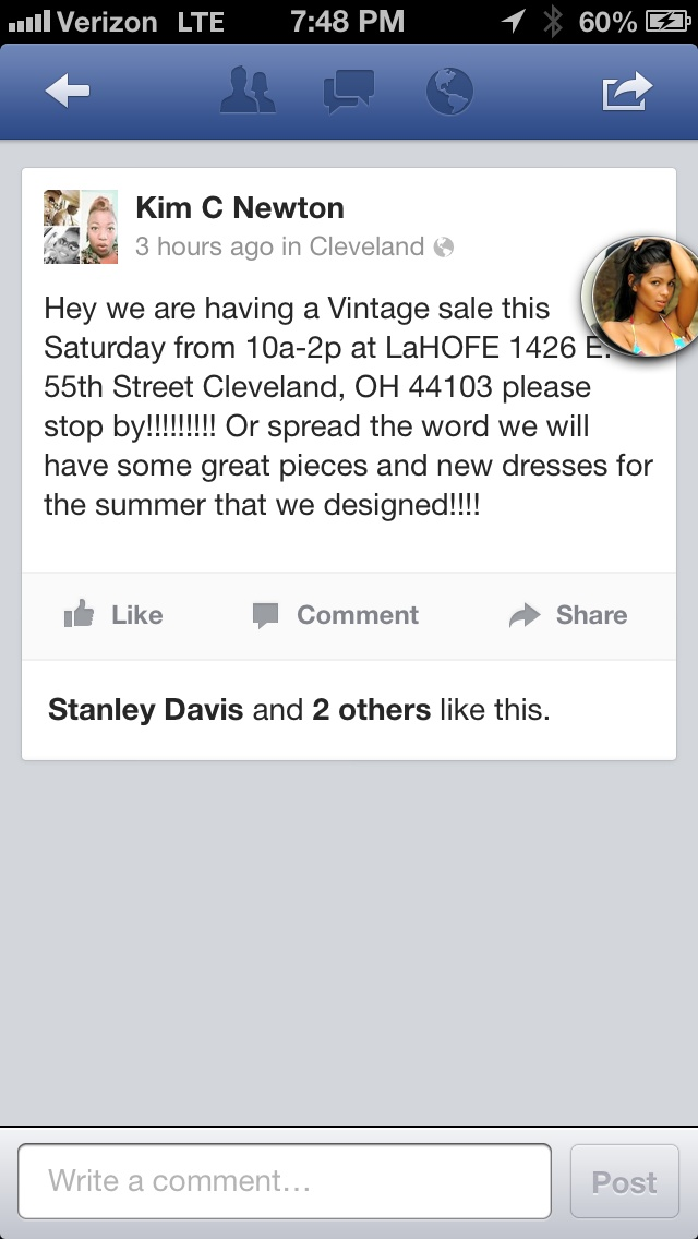Vintage sale this Saturday please come out to support!