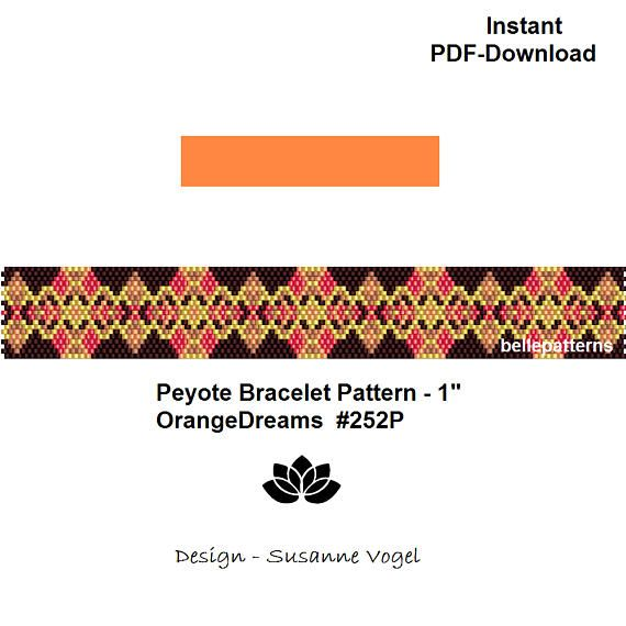 13 best SET-PEYOTE PATTERNS images on Pinterest | Peyote muster ...