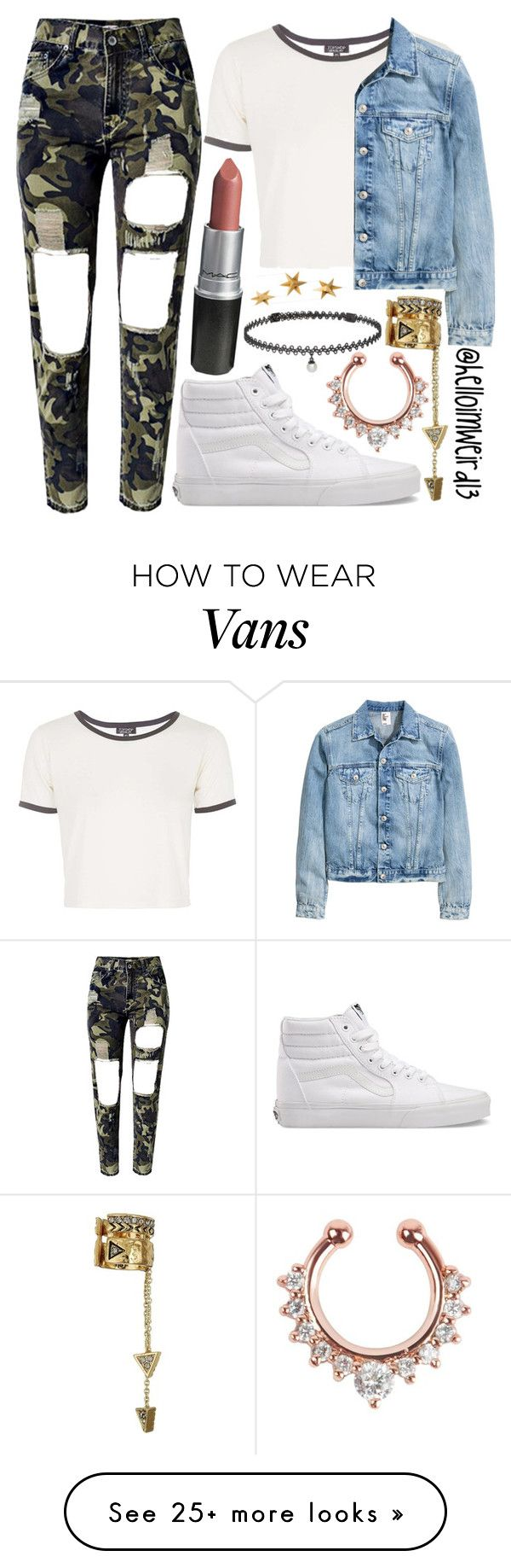 """""""and all the kids cried out"""" by helloimweird13 on Polyvore featuring WithChic, Topshop, Vans, House of Harlow 1960, BERRICLE and Livingly"""