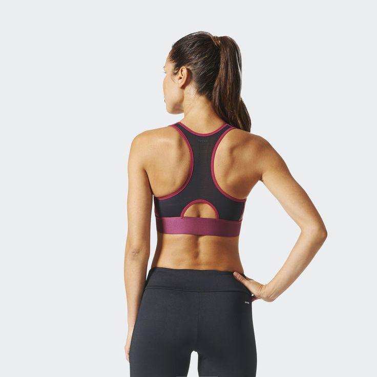 adidas Women's Techfit Badge of Sport Bra - Red | adidas Canada