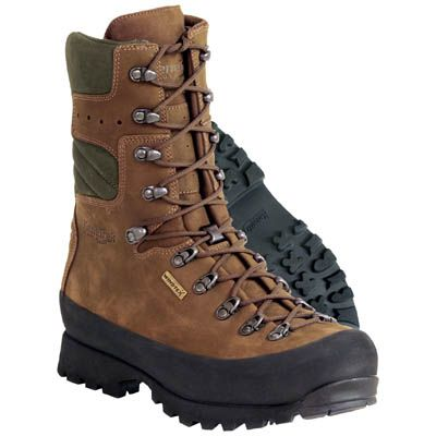 Kenetrek Mens Mountain Extreme NI Hunting Boots, US A serious boot for  rugged terrain, the new 10 inch Mountain Extreme NI is made with a one  piece vamp of