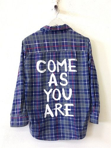 Come as you are vintage flannel http://shop.nylon.com/collections/whats-new/products/come-as-you-are-vintage-flannel #NYLONshop