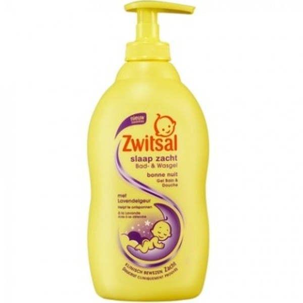 Zwitsal Bad & Wasgel 400ml in een Pompje - Slaap Zacht met Lavendel 8712561840583