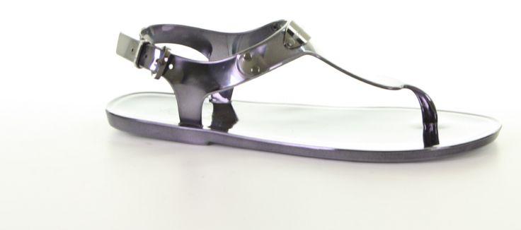 Michael Kors - Plate Jelly Gunmetal- online kopen? €59,99 - Van Arendonk webshop #michaelkors #sandals