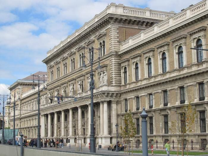 Ybl Miklós épületei - Corvinus Egyetem épülete - Budapest. Hungary