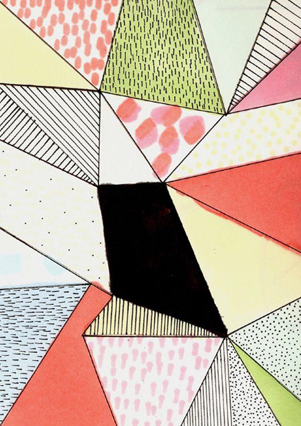 Dots, lines and colour | Pattern design by Johanna Tagada | http://cargocollective.com/johannatagada/Drawing