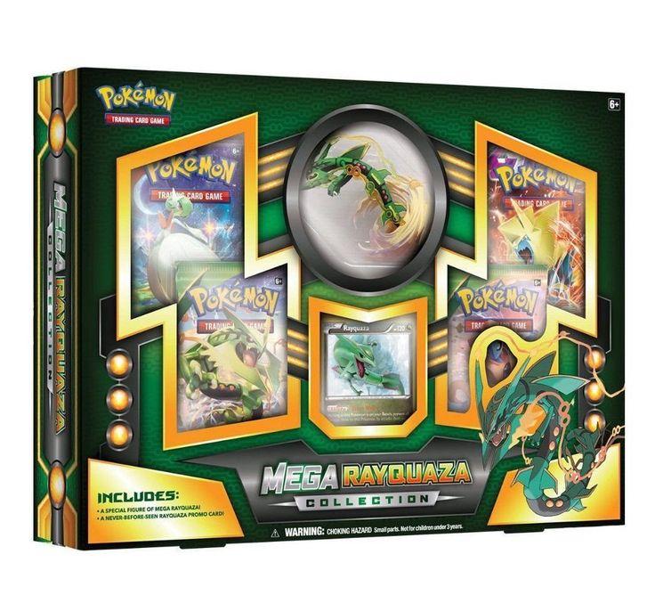 Mega Rayquaza EX Collection Box Pokemon TCG Cards, Sealed Packs and Promo