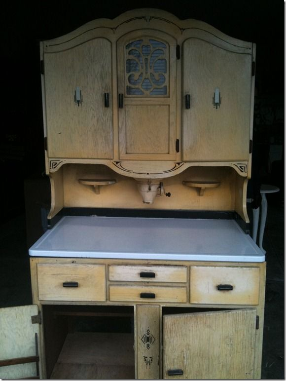 I D Like To Find A Nice Hoosier Cabinet Like This For Our Kitchen Since