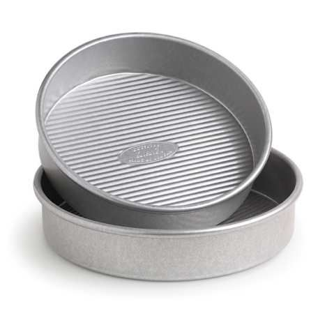"""Round Cake Pans - 8"""" and 9"""""""