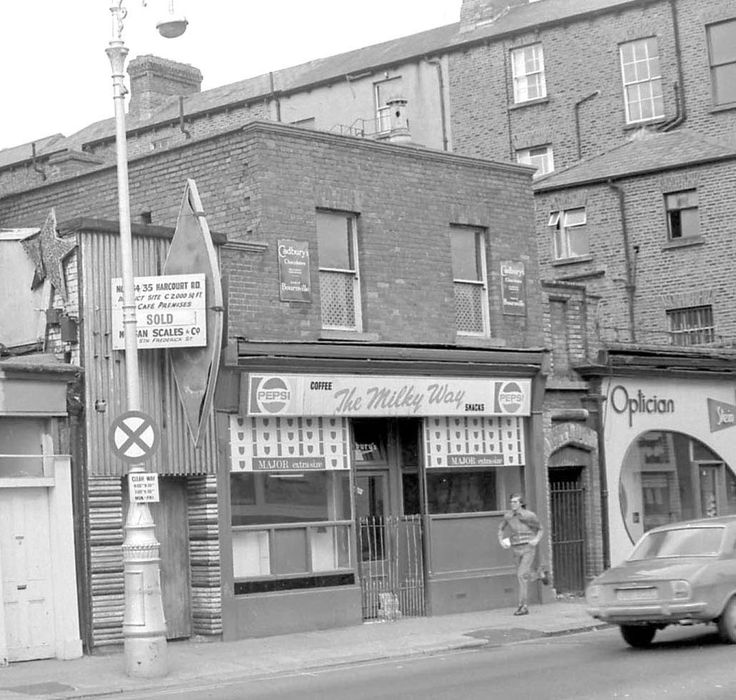 The Milky Way Cafe, Harcourt Street, 1972