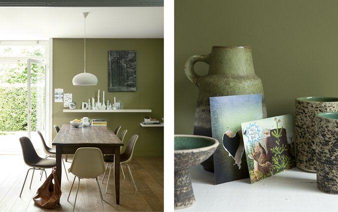 Meer dan 1000 idee n over groene verfkleuren op pinterest groene keukenmuren interieur - Keukenmuren schilderen ...