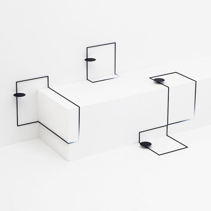 Japanese studio Nendo has designed a range of furniture that looks like it has been drawn onto surfaces at the Eye of Gyre gallery in Tokyo