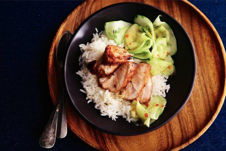 14 januari - Komkommer in de bonus - Zoet, pittig, zuur en fris. In dit gerecht komen alle smaken samen - Recept - Allerhande