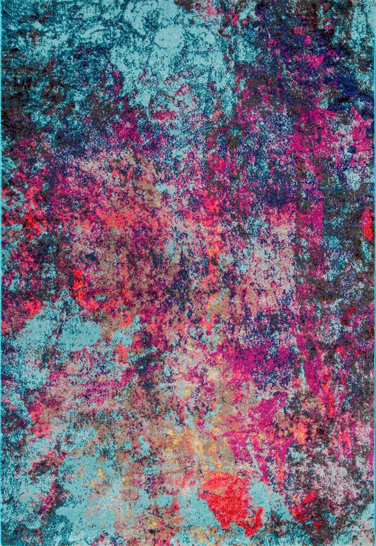 How stunning is the blend of color with the Rugs USA's Albina CR20 Cloud Nebula Abstract Rug!