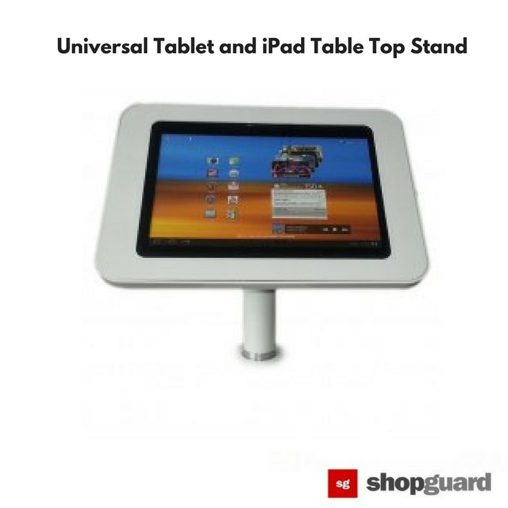 SG Universal Tablet and iPad Table Top Stand  Keep your hands free with stands and mounts for tablets.   #shopsecurity #standipad #tablet #ipadstand