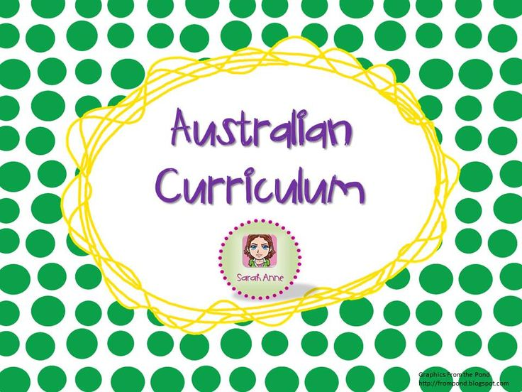 Gathering resources to help ease the transition to the Australian Curriculum.