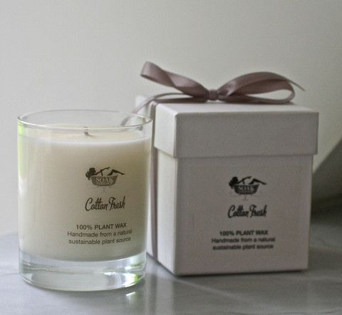 Scented Organic Candles - 30cl