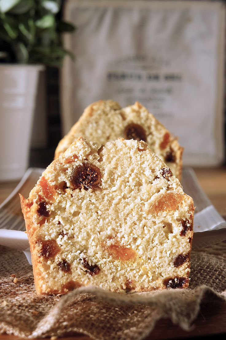 CAKE ANGLAIS au FRUITS CONFITS pour le { TEA TIME }