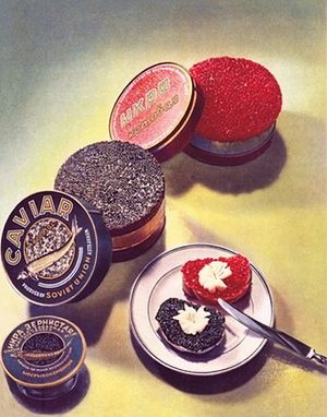 Caviar: under the Soviet regime the dish became a symbol of inequality.
