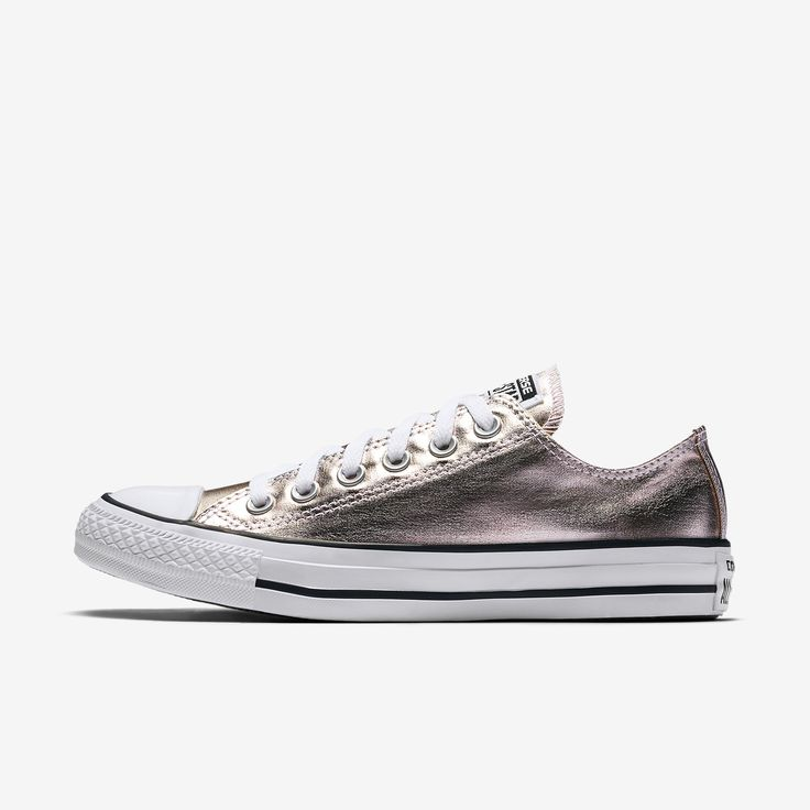 Converse Chuck Taylor All Star Metallic Canvas Low Top Women's Shoe