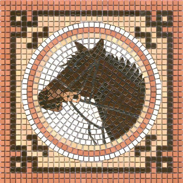 1000 Images About Horse Mosaic On Pinterest Ceramics