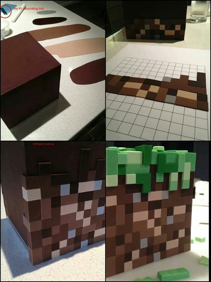 minecraft minecraft party pinterest minecraft torten und backen. Black Bedroom Furniture Sets. Home Design Ideas