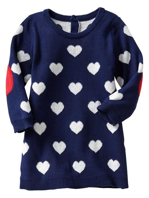 cute heart dress for the baby girl