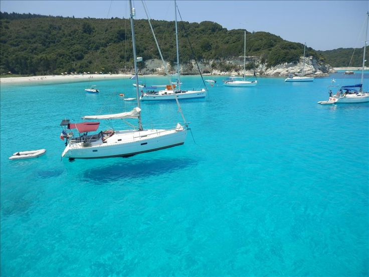 Boat Trip To Paxos And AntiPaxos 12-06-2014