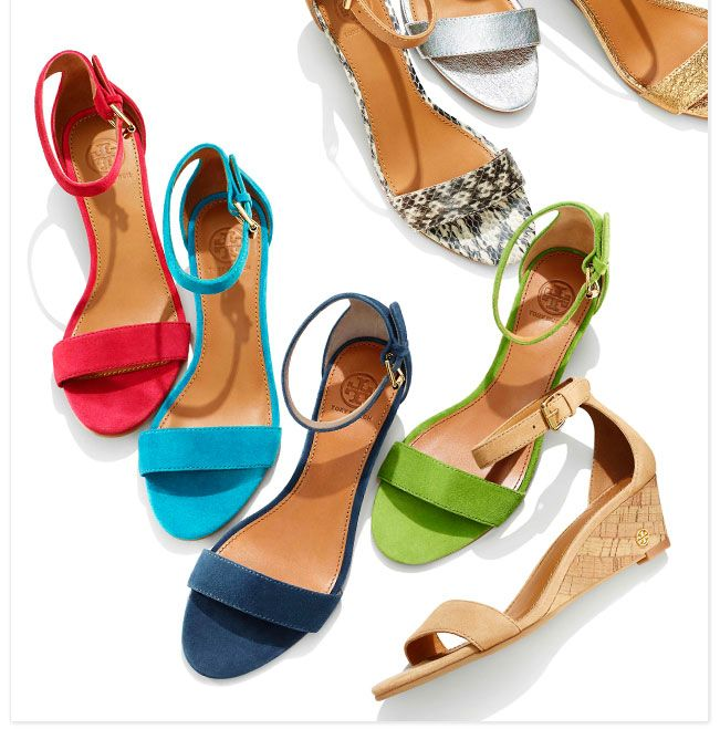Sandals by Tory Burch!