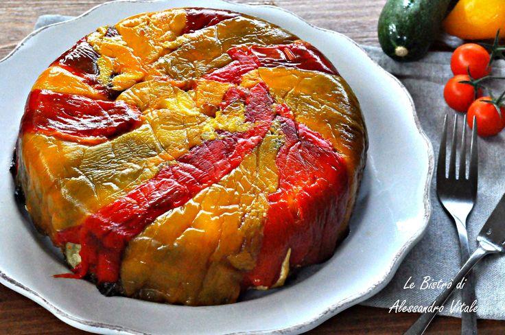 Torta di peperoni rovesciata, secondo piatto