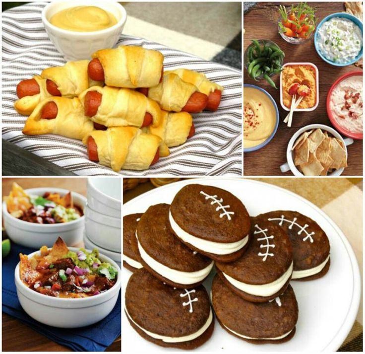 Football Food#FallintoAutumn....or Maybe A Football Themed Baby Shower?