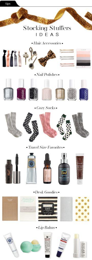 stocking stuffer gift ideas for women