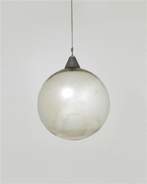 Bauhaus round lamp.
