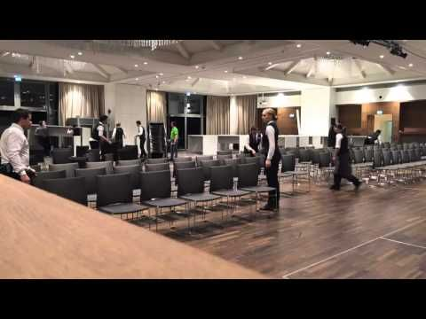 Pitter Event Center - Umbau in wenigen Sekunden