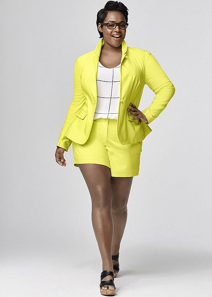 22 Plus size spring suiting finds on TheCurvyFashionista.com
