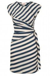 Louche Badger Stripe Dress @ joythestore.com