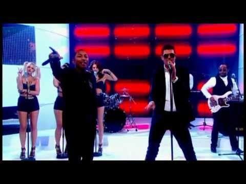 Robin Thicke - Blurred Lines ft. T.I. & Pharrell (Live Graham Norton Show) - YouTube